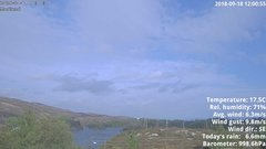 view from 1 Sotra island, W-Norway on 2018-09-18
