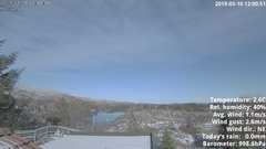 view from 1 Sotra island, W-Norway on 2019-03-10