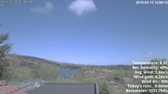 view from 1 Sotra island, W-Norway on 2019-05-12