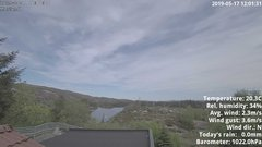 view from 1 Sotra island, W-Norway on 2019-05-17