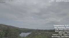 view from 1 Sotra island, W-Norway on 2019-07-17