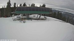 view from Angel Fire Resort - Chile Express on 2019-02-14
