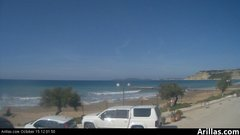 view from Arillas Corfu Live Webcam on 2018-10-15