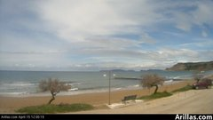 view from Arillas Corfu Live Webcam on 2019-04-15