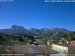 view from Callosa d'en Sarrià - Aitana on 2019-01-15