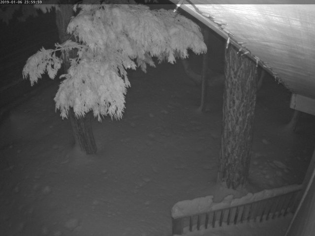 time-lapse frame, Tahoe Woods webcam