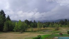 view from Olympic View Cabins Hurricane Ridge Cam on 2018-09-13