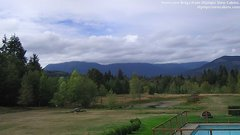 view from Olympic View Cabins Hurricane Ridge Cam on 2018-09-20