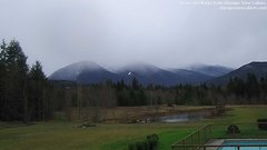 view from Olympic View Cabins Hurricane Ridge Cam on 2018-12-12