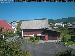 view from VREME ŽIRI-cam-1-SV on 2018-09-17