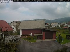 view from VREME ŽIRI-cam-1-SV on 2018-10-09