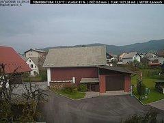view from VREME ŽIRI-cam-1-SV on 2018-10-16