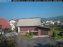 view from VREME ŽIRI-cam-1-SV on 2018-10-20