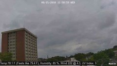 view from University Place Apartments - North Weather on 2018-08-15
