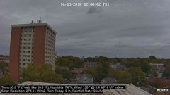 view from University Place Apartments - North Weather on 2018-10-19