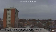 view from University Place Apartments - North Weather on 2018-11-29