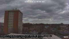 view from University Place Apartments - North Weather on 2018-12-01