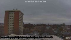 view from University Place Apartments - North Weather on 2018-12-02