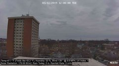 view from University Place Apartments - North Weather on 2019-03-12