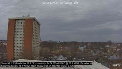 view from University Place Apartments - North Weather on 2019-03-13