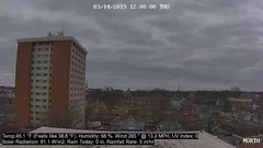 view from University Place Apartments - North Weather on 2019-03-14