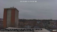 view from University Place Apartments - North Weather on 2019-03-19