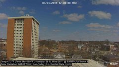 view from University Place Apartments - North Weather on 2019-03-21