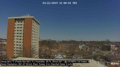view from University Place Apartments - North Weather on 2019-03-22