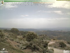 view from Villasalto on 2018-07-16