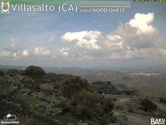view from Villasalto on 2018-10-15