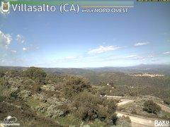 view from Villasalto on 2018-10-22