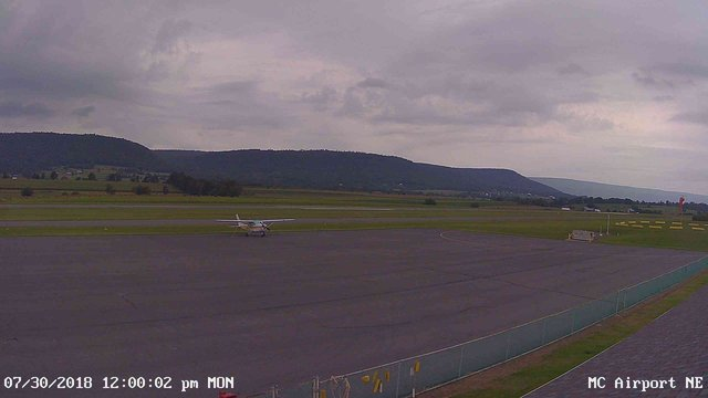 view from Mifflin County Airport (east) on 2018-07-30