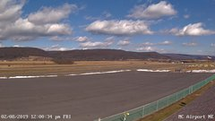 view from Mifflin County Airport (east) on 2019-02-08