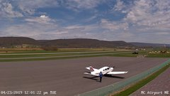 view from Mifflin County Airport (east) on 2019-04-23