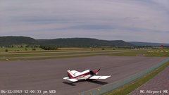 view from Mifflin County Airport (east) on 2019-06-12