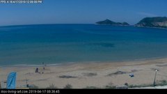view from Agios Georgios NW Corfu Greece on 2019-04-17
