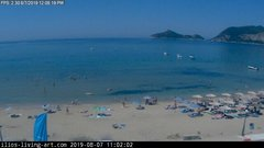 view from Agios Georgios NW Corfu Greece on 2019-08-07