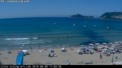 view from Agios Georgios NW Corfu Greece on 2019-08-09