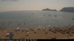view from Agios Georgios NW Corfu Greece on 2019-08-12