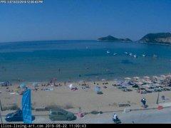 view from Agios Georgios NW Corfu Greece on 2019-08-22