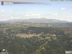 view from Monte Lusei Seui on 2018-07-11