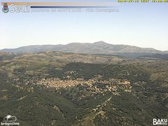 view from Monte Lusei Seui on 2018-07-12