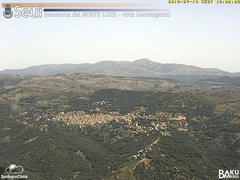 view from Monte Lusei Seui on 2018-07-13