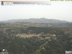 view from Monte Lusei Seui on 2018-07-14