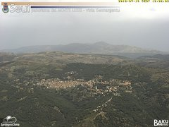 view from Monte Lusei Seui on 2018-07-16