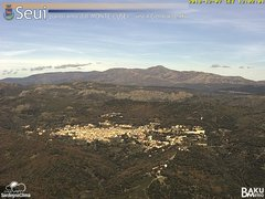 view from Monte Lusei Seui on 2018-12-07