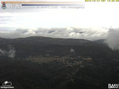 view from Monte Lusei Seui on 2018-12-14