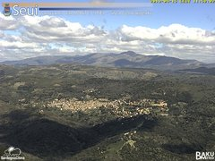 view from Monte Lusei Seui on 2019-04-15