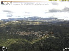 view from Monte Lusei Seui on 2019-05-14