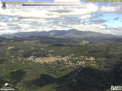 view from Monte Lusei Seui on 2019-05-16